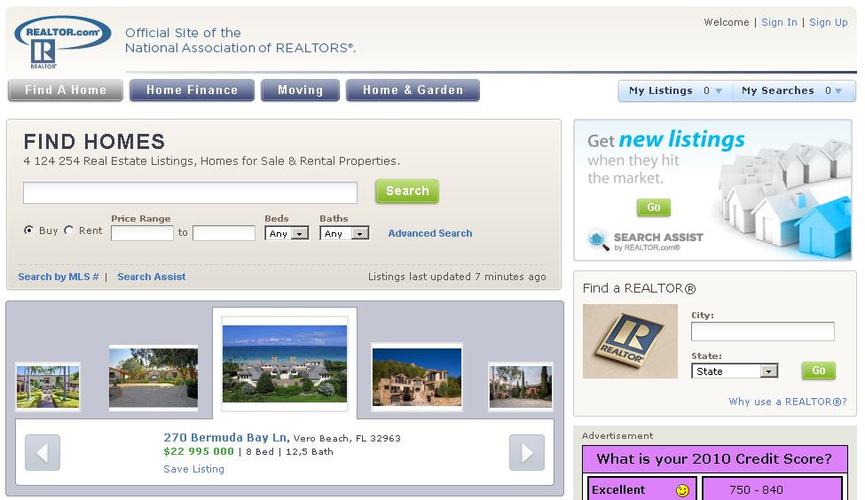 realtor immobilier