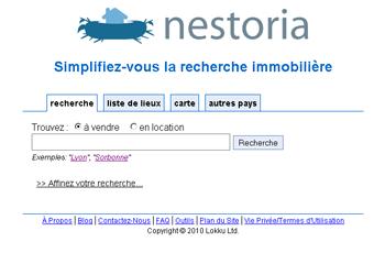 Nestoria immobilier