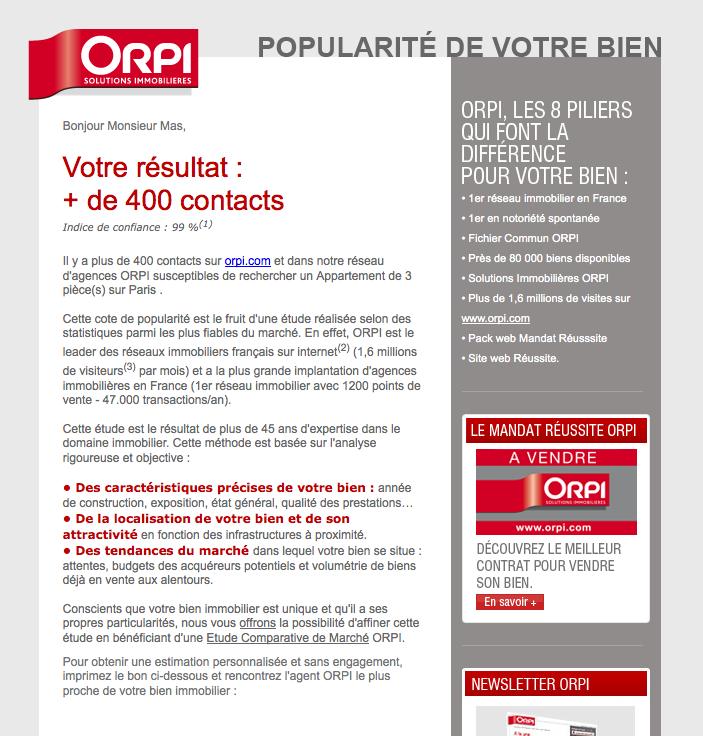 Orpi Le Réseau Immobilier Le Plus Innovant Sur Internet