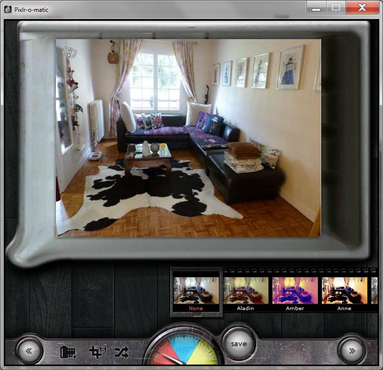 Exemple d'utilisation de Pixlr-O-matic