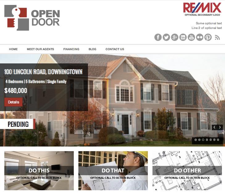 wordpress-agent-immobilier-open-door