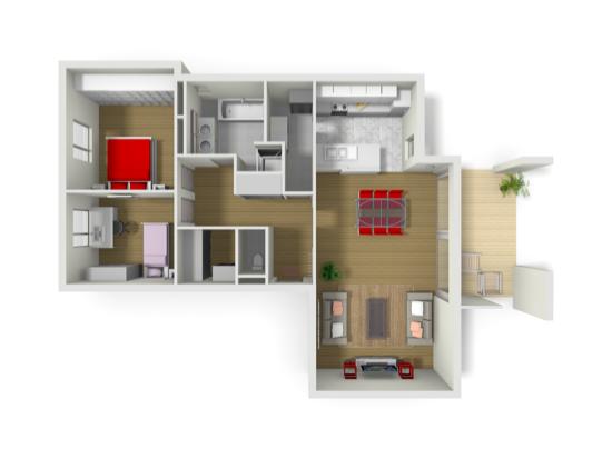 Plan interactif 3D