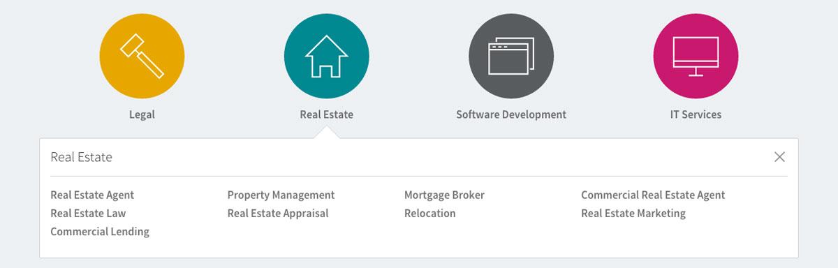 linkedin-profinder-categories-immobilier