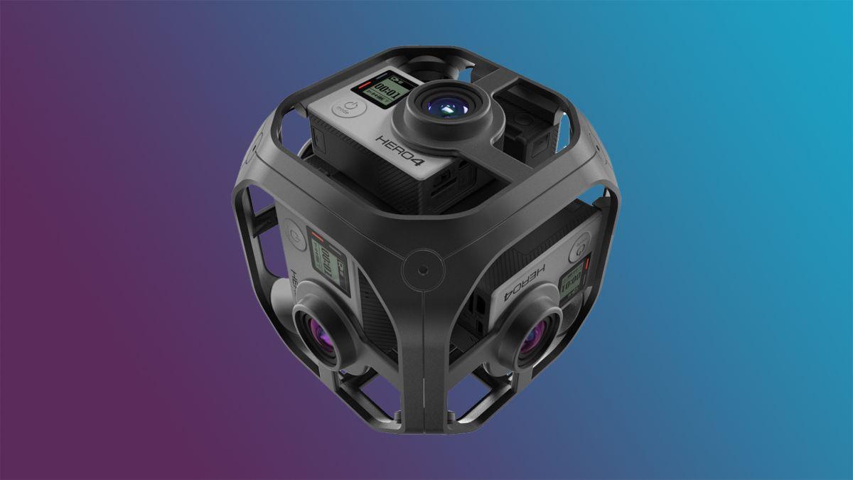 photographie de la camera 360 degrés de GoPro pour réalité virtuelle dans l'immobilier