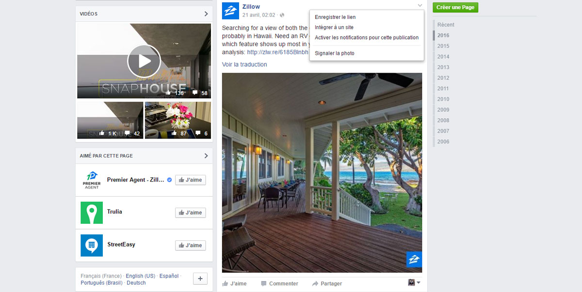 facebook_bookmark_zillow_exemple