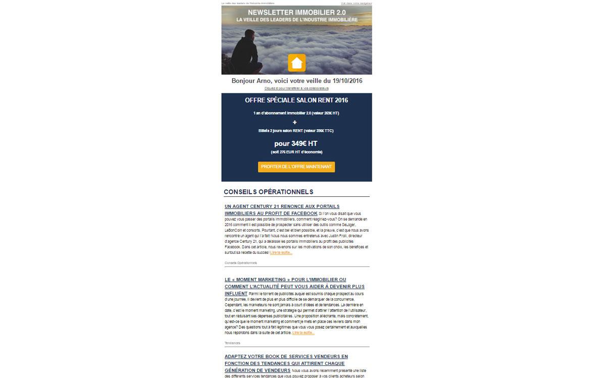 Dossier Emailing Et Immobilier L Emailing N Est Pas Mort
