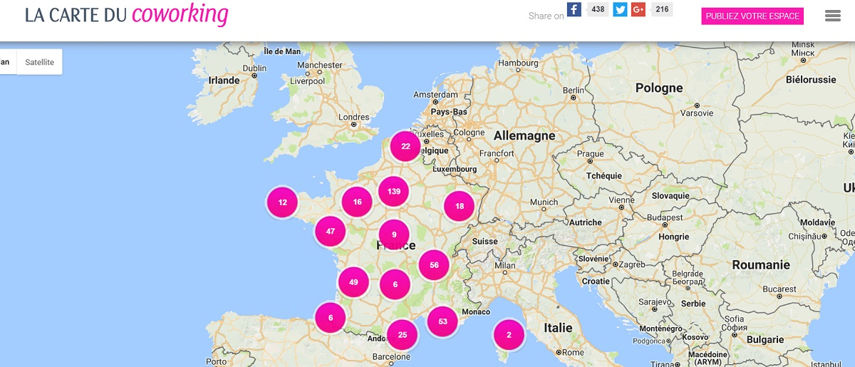 carte_coworking_france