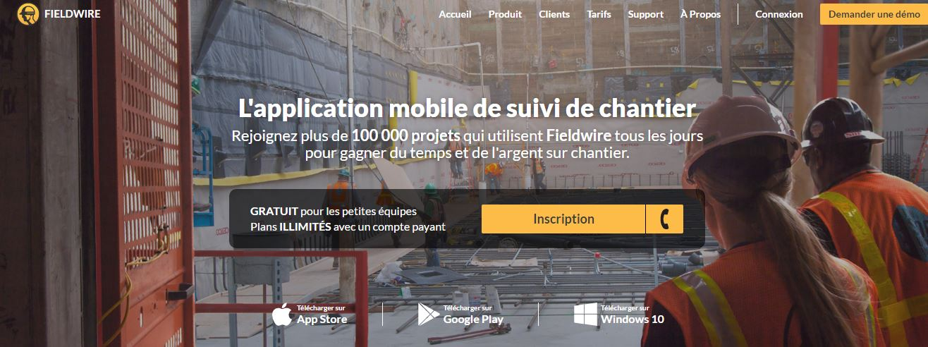 fieldwire_startup_immobilier_paris_and_co_incubateur_carnet_suivi_chantier