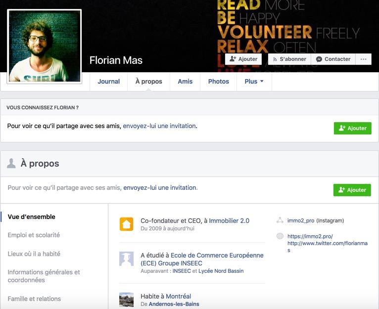 11 conseils pour cr u00e9er un profil professionnel sur facebook quand on est un professionnel de l