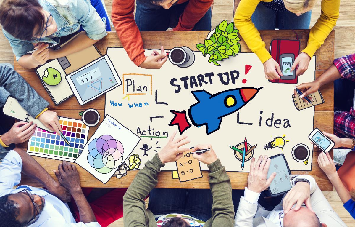 startup immobilière : illustration qui symbolise l'innovation dans les startups du marché immobilier