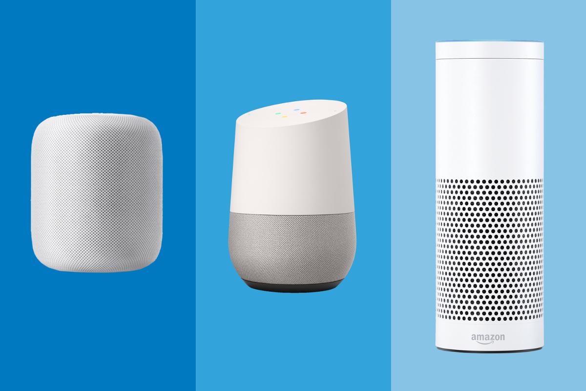 Gafa Immobilier Alexa Google Home Homepod
