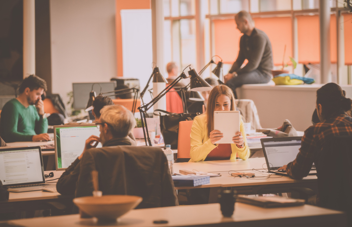 Coworking Space Agence Immobiliere