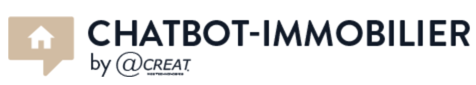 Logo Chatbot Immobilier by Acreat