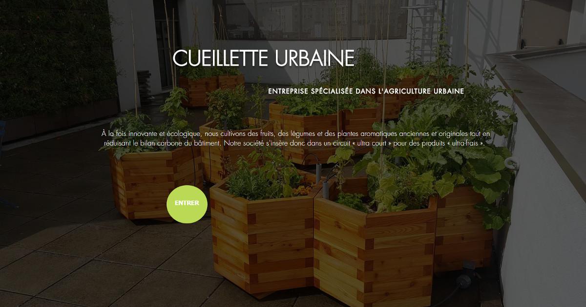 Cueillette Urbaine Vivatech Espaces Verts Immobilier Startup