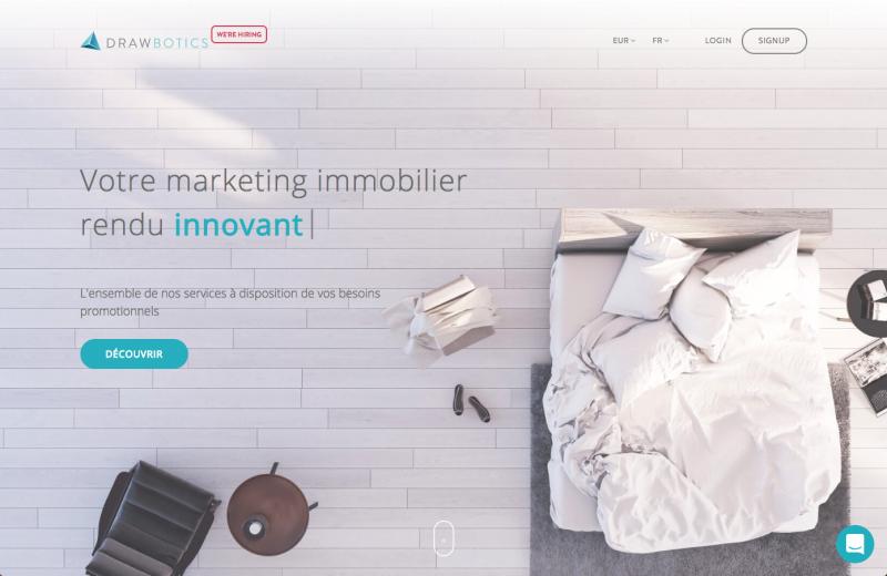Drawbotics Marketing Immobilier