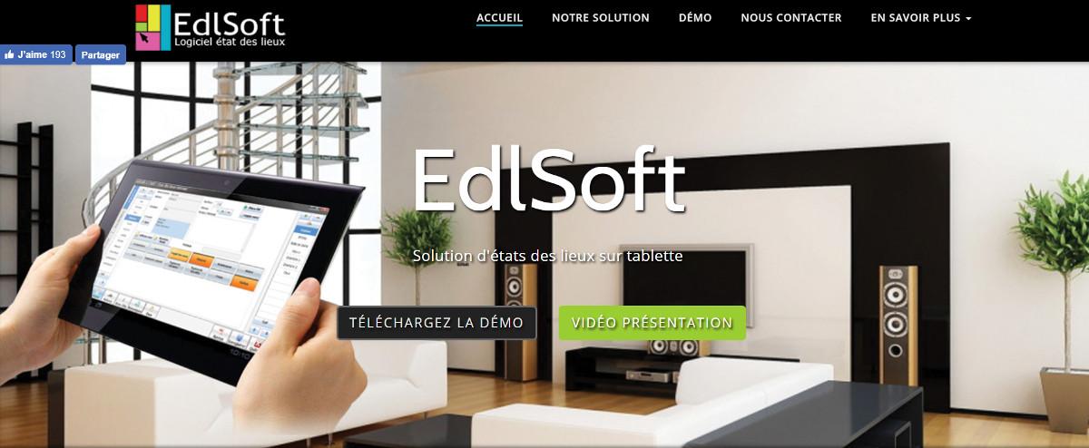 Edlsoft Immobilier Etatdeslieuxdemats