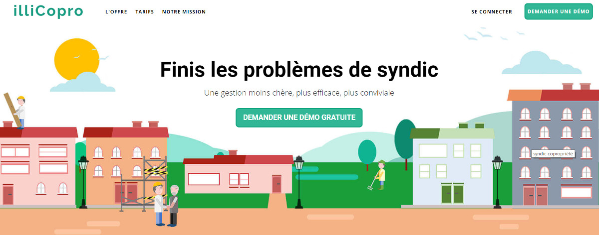 Illicopro Coproprietes Gestion Illustration Immobilier Outils