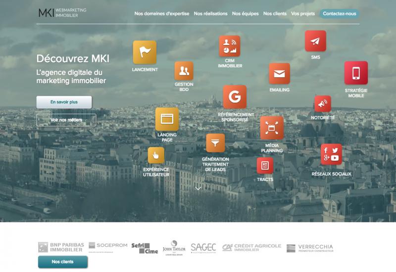 Mki Agence Communication Immobilier