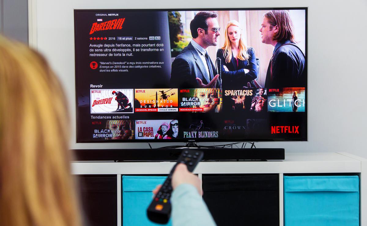 Netflix Immobilier Abonnement Illustration