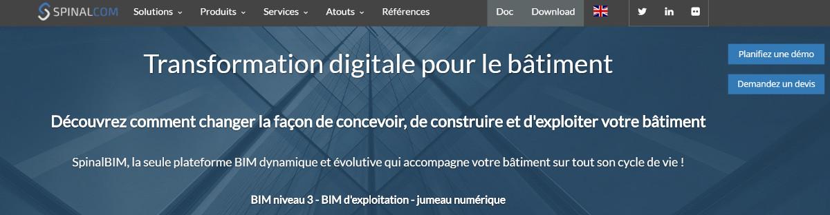 Spinalcom Maquette Numerique Batiment Vivatech Immobilier