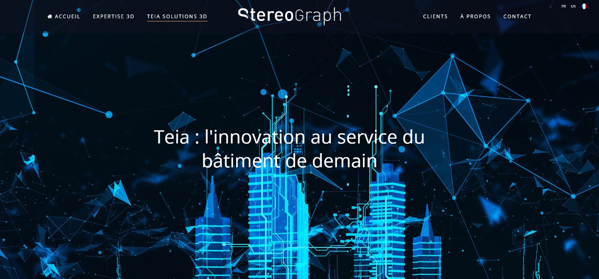 Stereograph Vivatech Startup Immobilier Batiment Demain