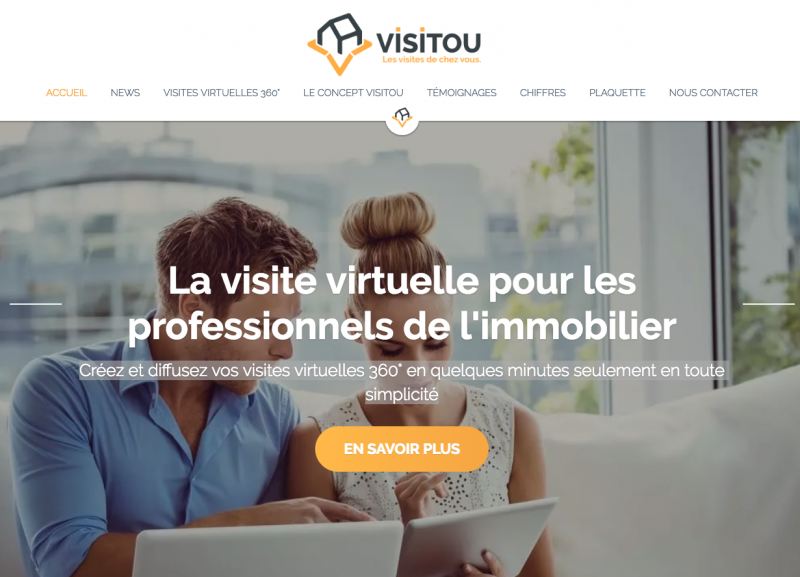 Visitou Visite Virtuelle Immobilier