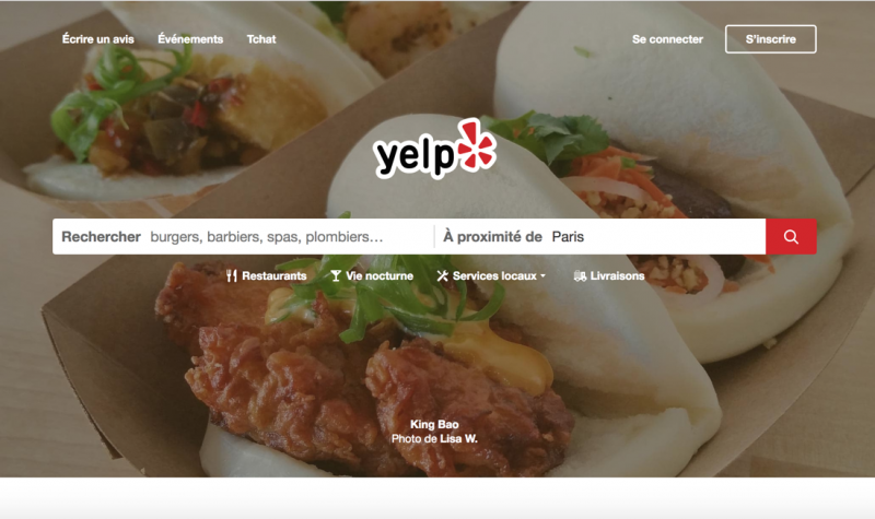 Yelp Immobilier