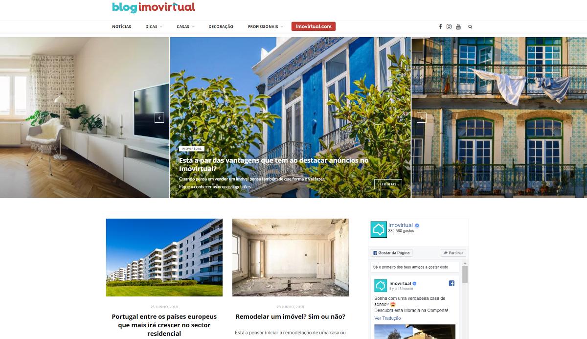 Imovirtual Blog Portail Immobilier Portugal Marketing