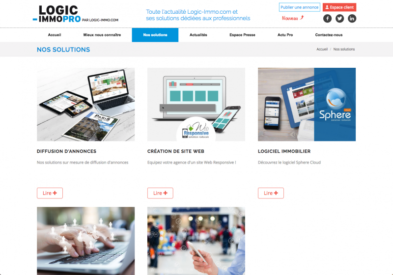 Logicimmopro Agence Digital Immobilier