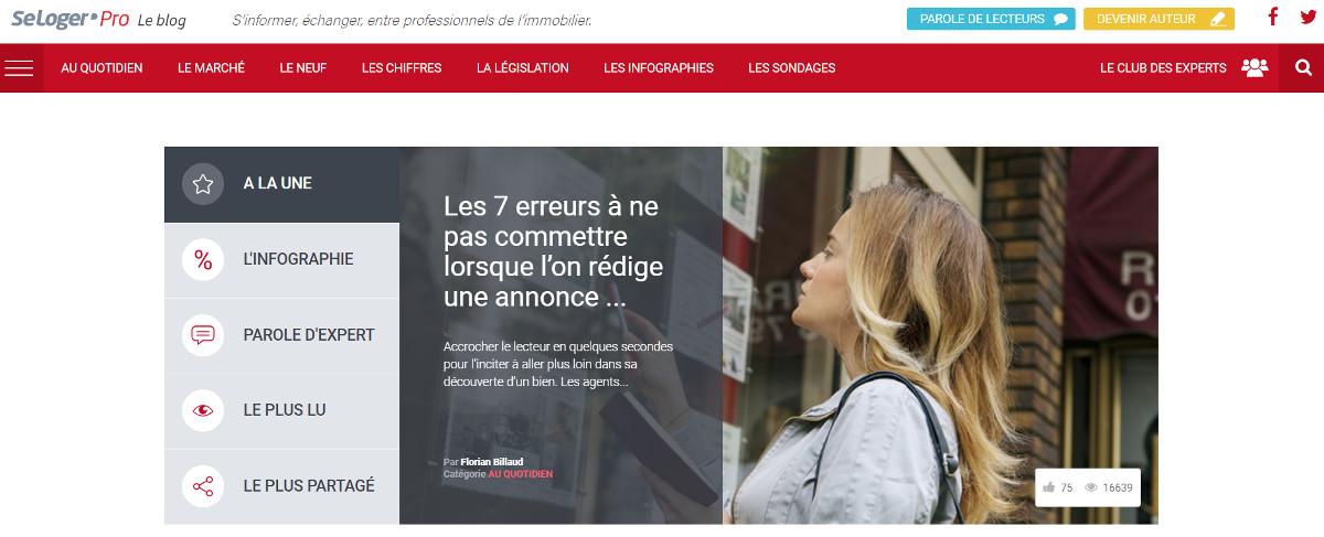 Seretrouver Media Immobilier Seloger