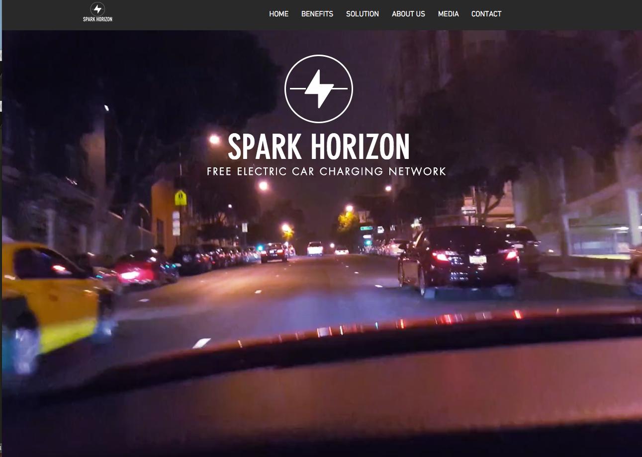 Sparke Horizon Reseau Recharge Vehicule Electrique