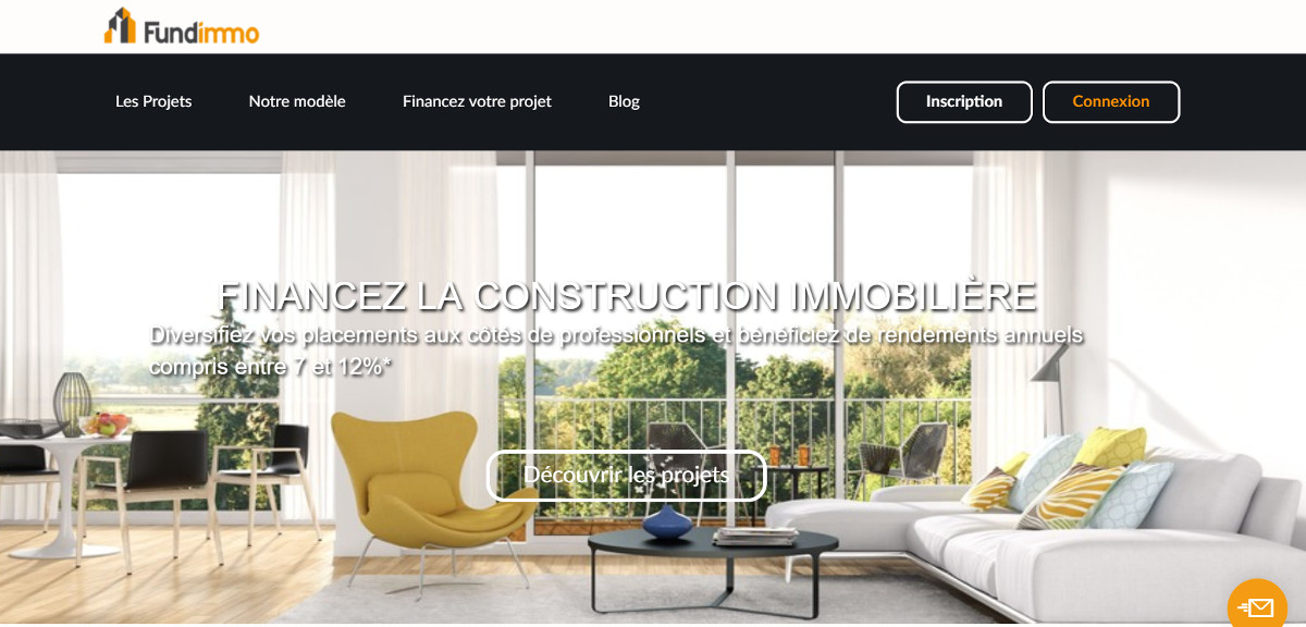 Fundimmo Crowdfunding Immobilier Annuaire Immobilier Homepage