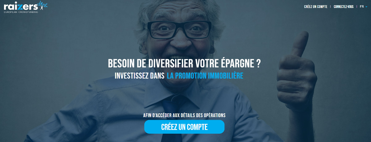 Raizers Immobilier Crowdfunding