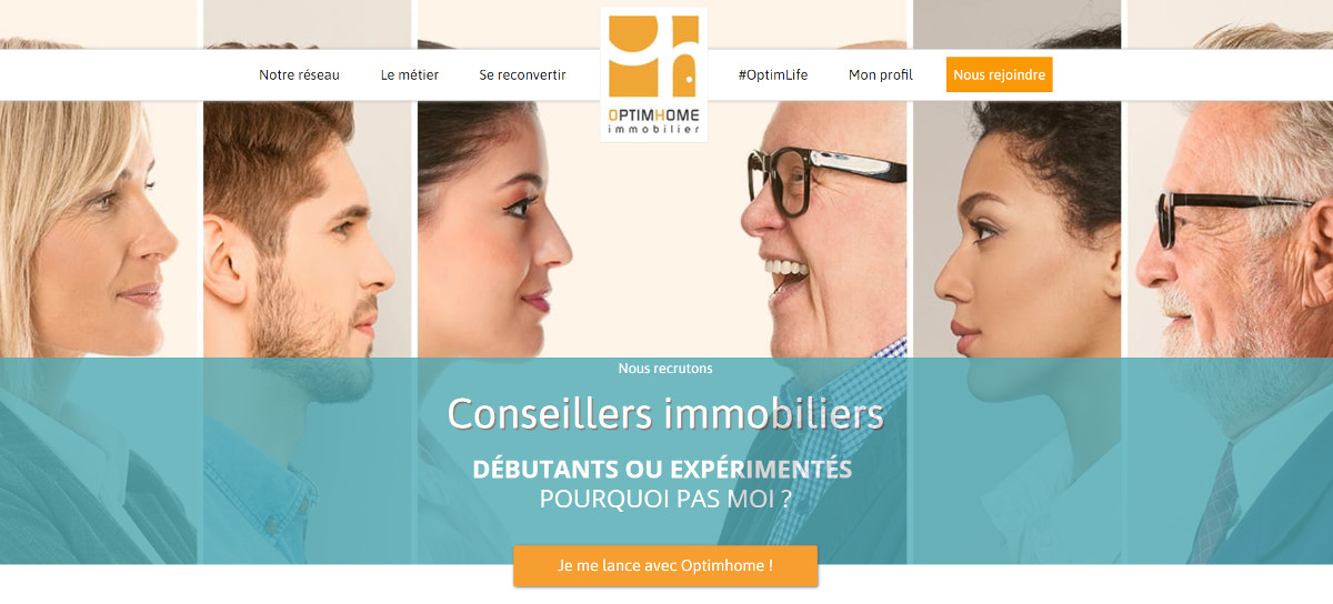 Optimhome Reseau Mandataires France