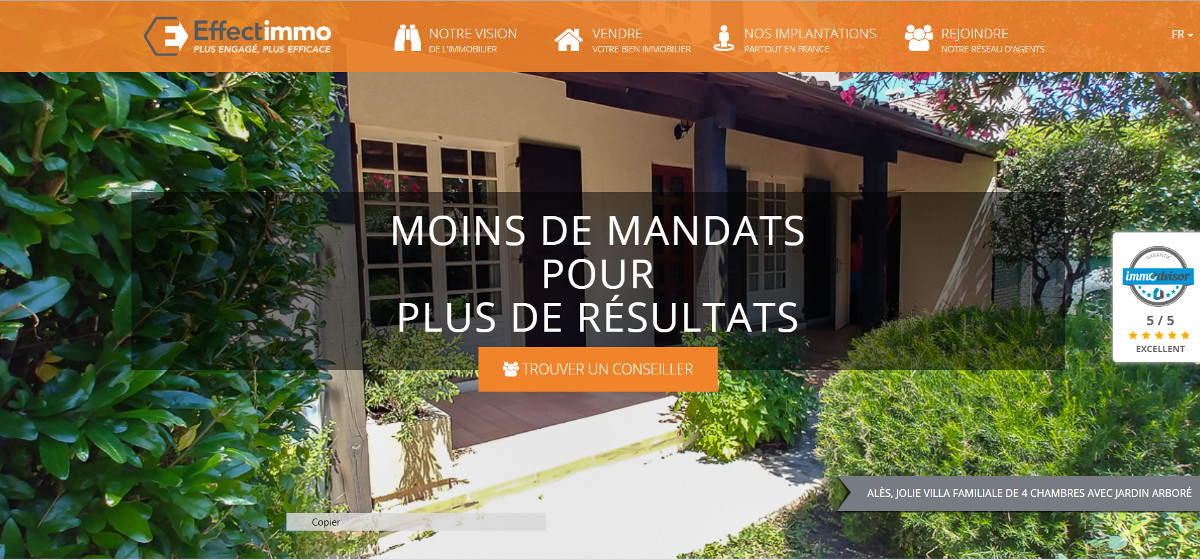 Effectimmo Mandataires Immobilier Reseau