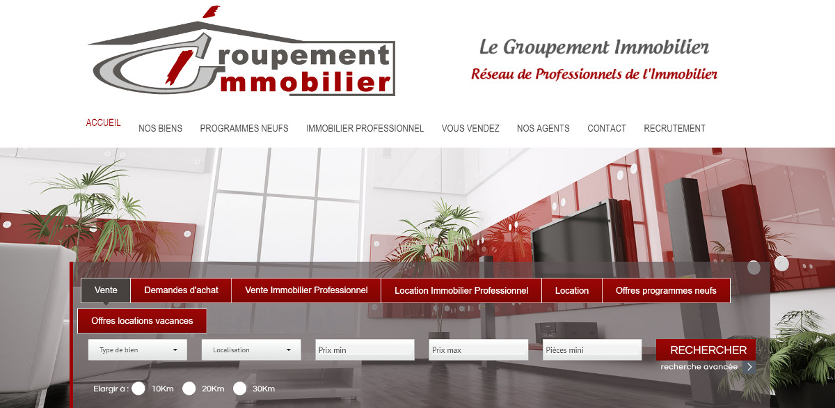 Groupementimmobilier Reseau Agence Immobiliere Independantes