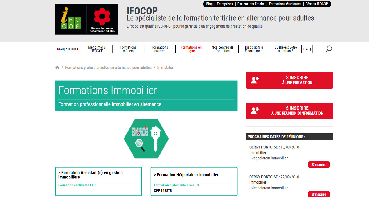 Ifocop Formations Immobilier Loi Alur Professionnels