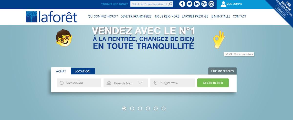 Laforet Reseau Immobilier Professionnels Franchise Immobiliere