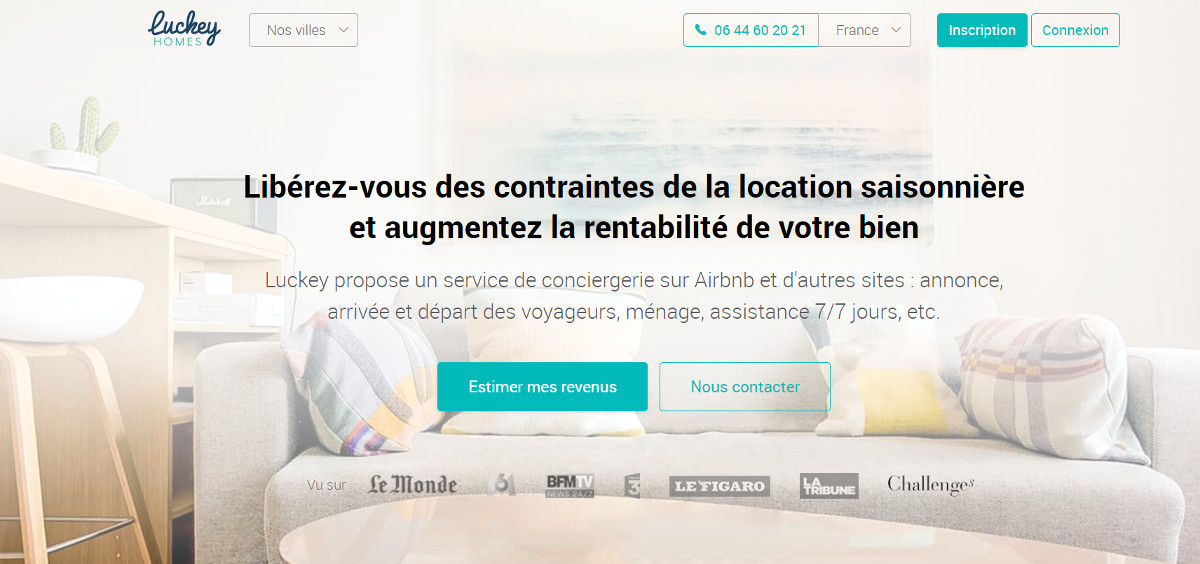 Luckeyhomes Conciergerie Immobiliere Prestataires Professionnels Immobilier