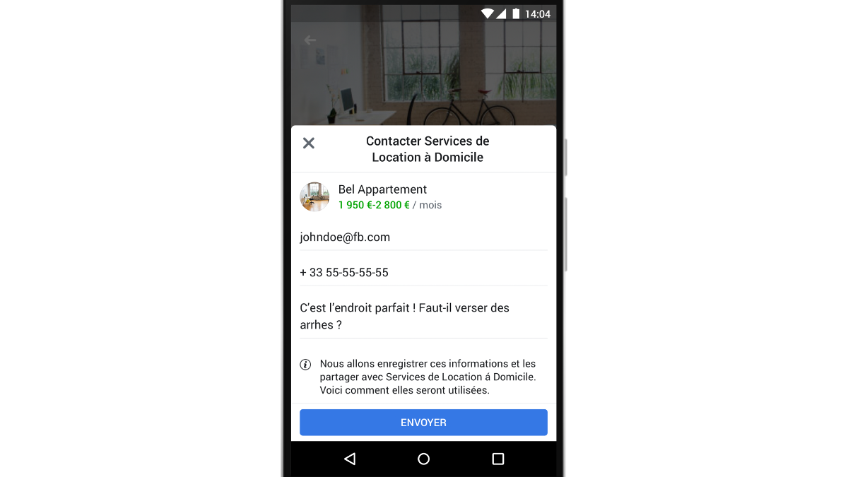 Marketplace Facebook Location Immobilier Exemple 5