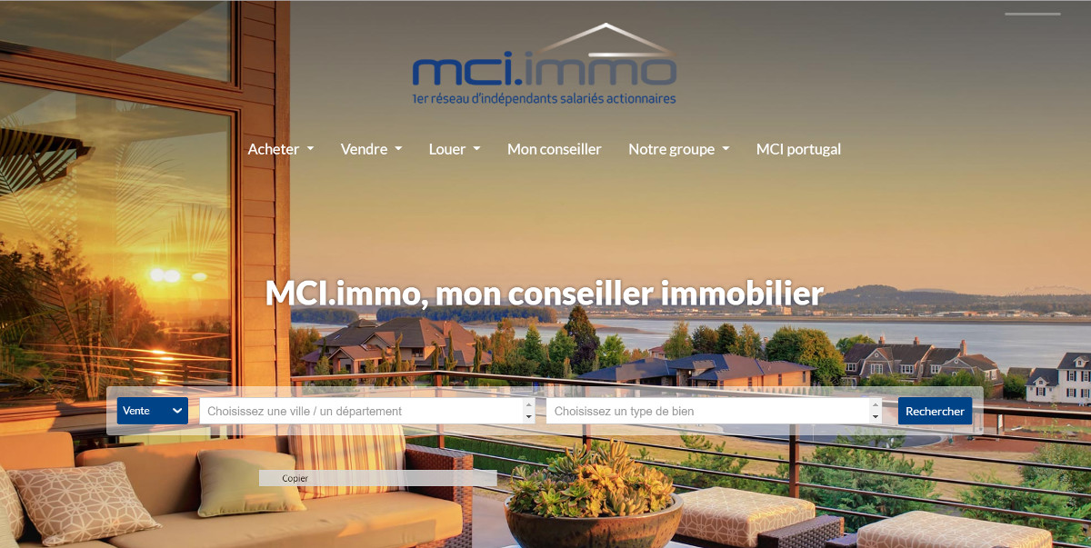 Mciimmo Groupement Agences Immobilieres