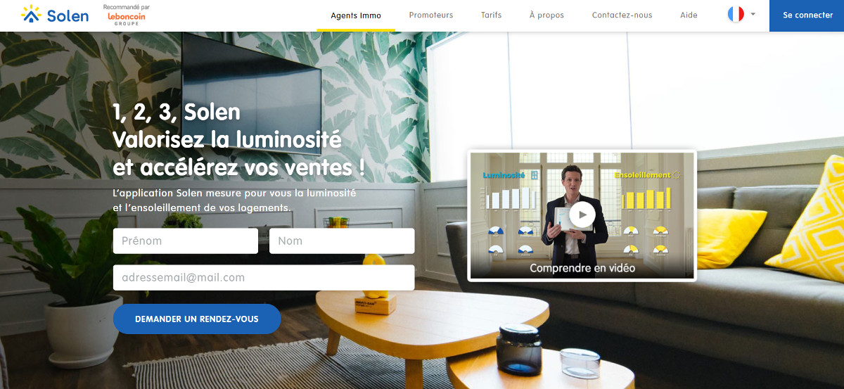 Solen Startup Immobilier French Proptech Tour Prestataires Professionnels