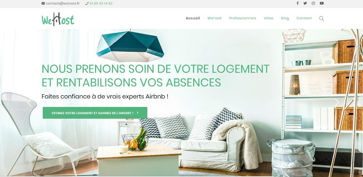Wehost Conciergerie Immobilier Airbnb Annuaire Professionnels Immobilier