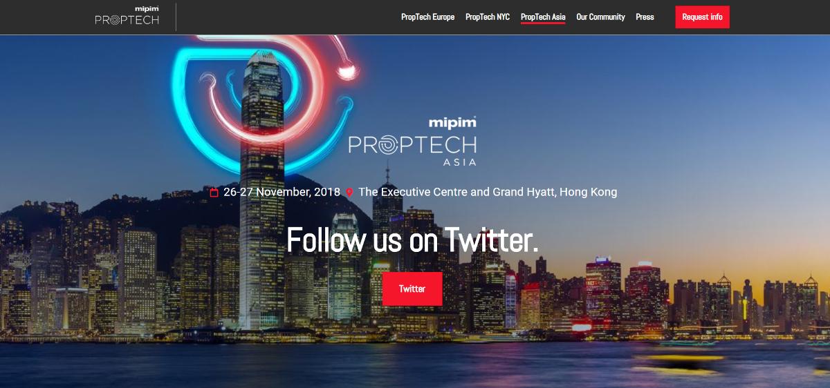 Mipim Proptech Asia Salon Immobilier 2019