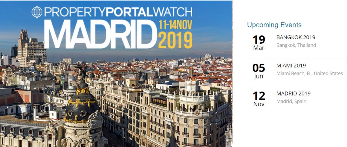Propertportalwatch Madrid Salon Immobilier Portails Immobilier 11 14 Novembre 2019