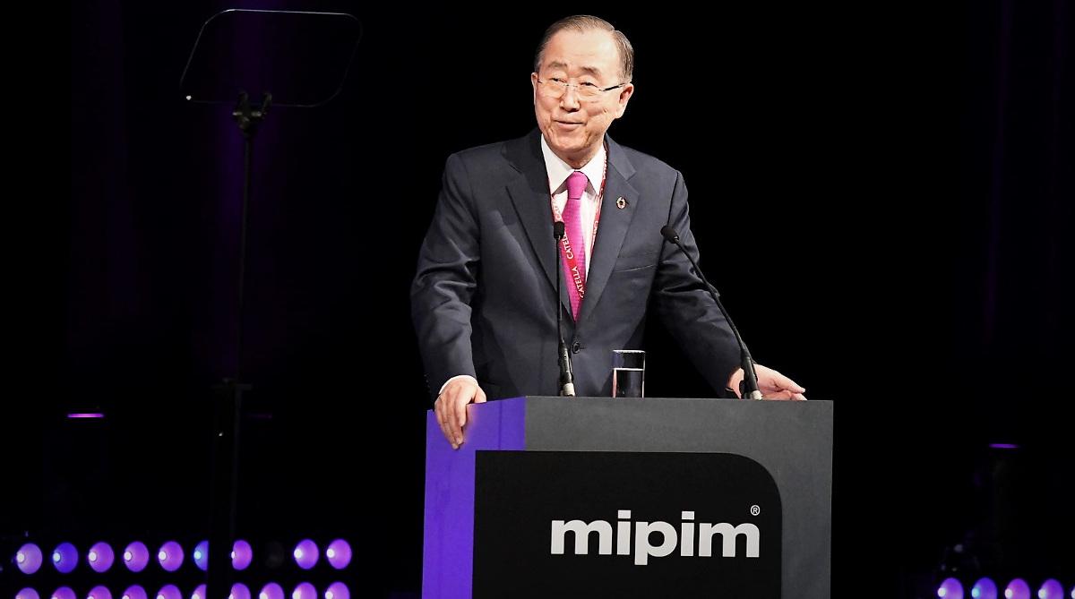 Mipim 2019 Ban Ki Moon Discours