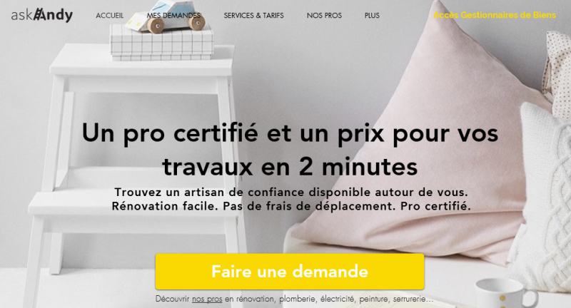 Askandy Startup Immobilier