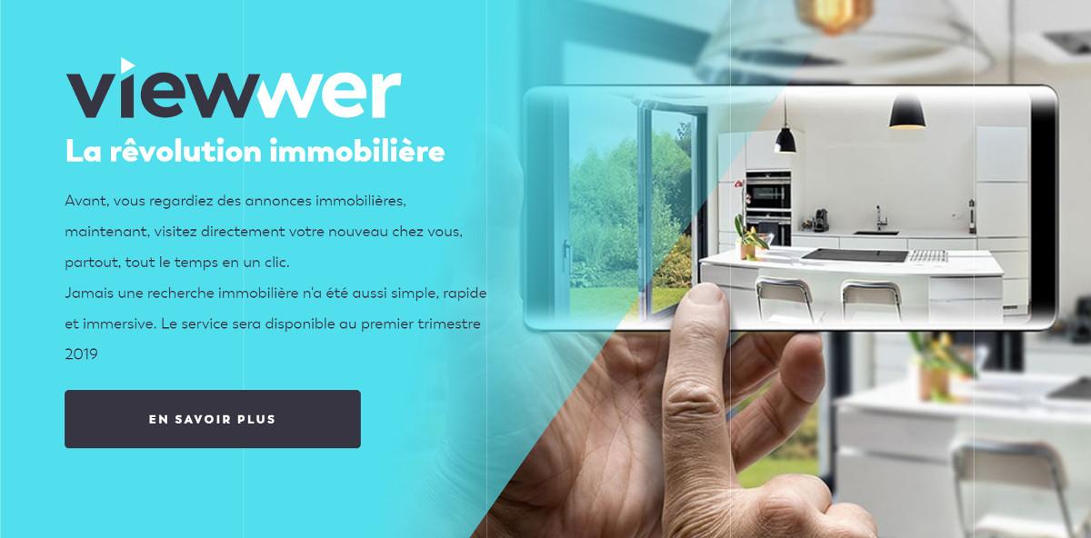 Viewwer Startup Immobilier Visite Virtuelle 3d