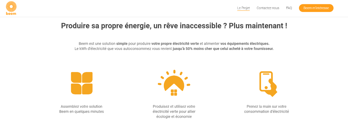 Beem Startup Immobilier Energie Responsable Presentation French Prptech Tour