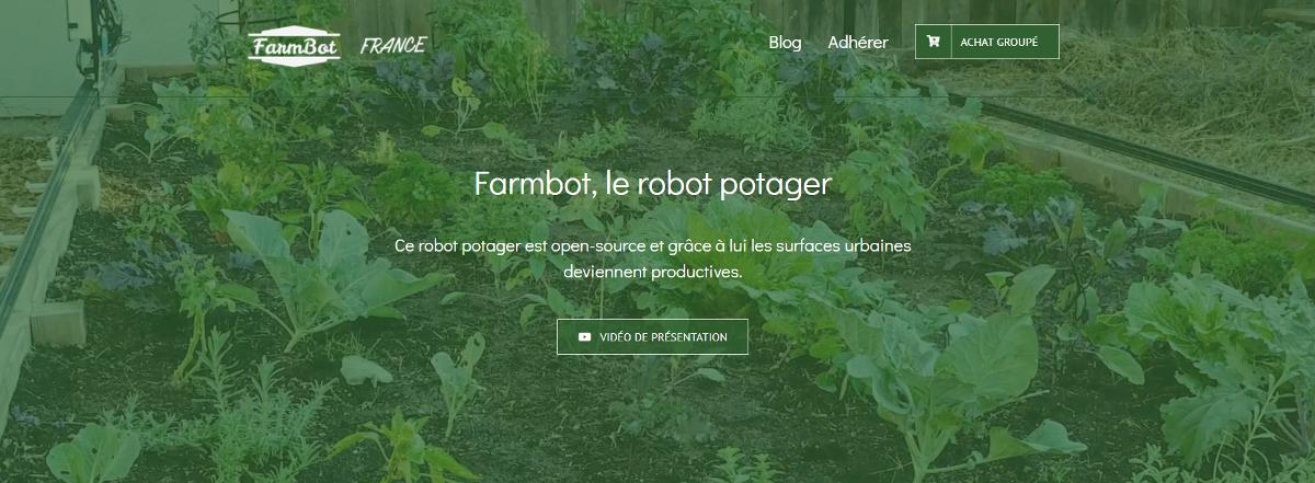 Farmbot Robot Potager Urbain Proptech Urbanisme